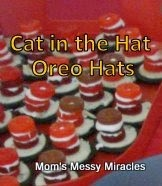 Cat in the Hat Oreo Hats