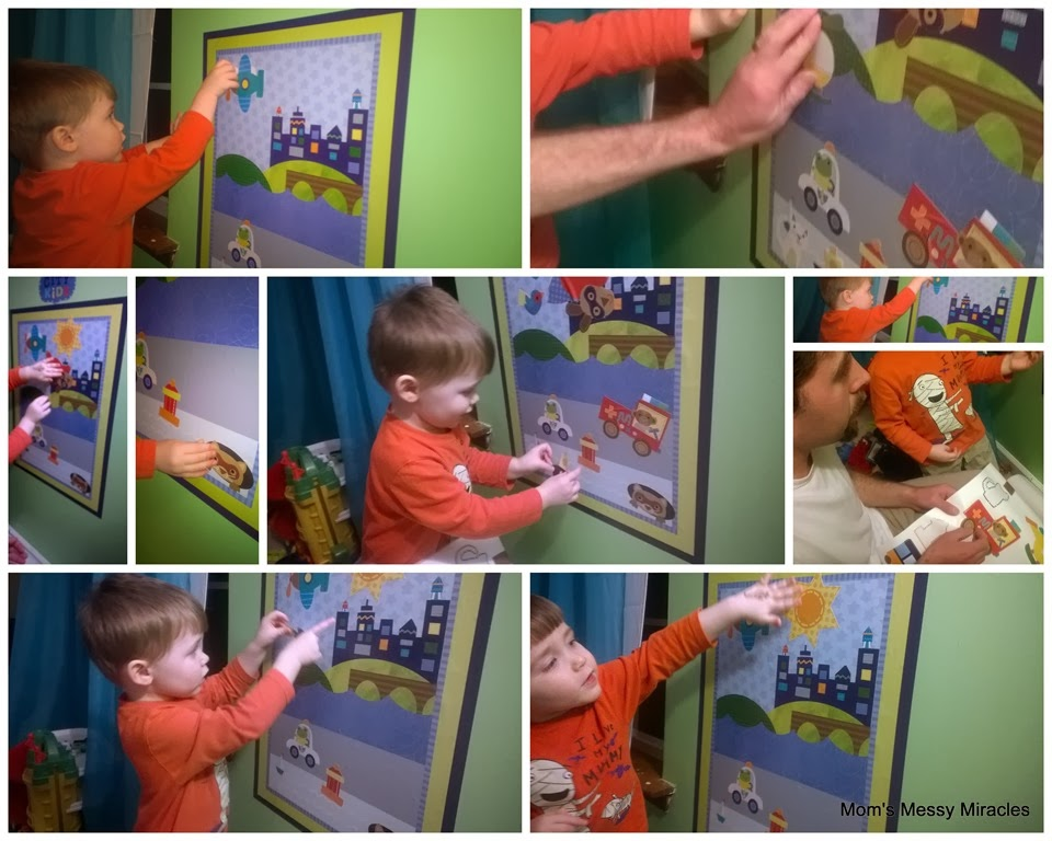 Wallies Wall Play - The Shirley Journey