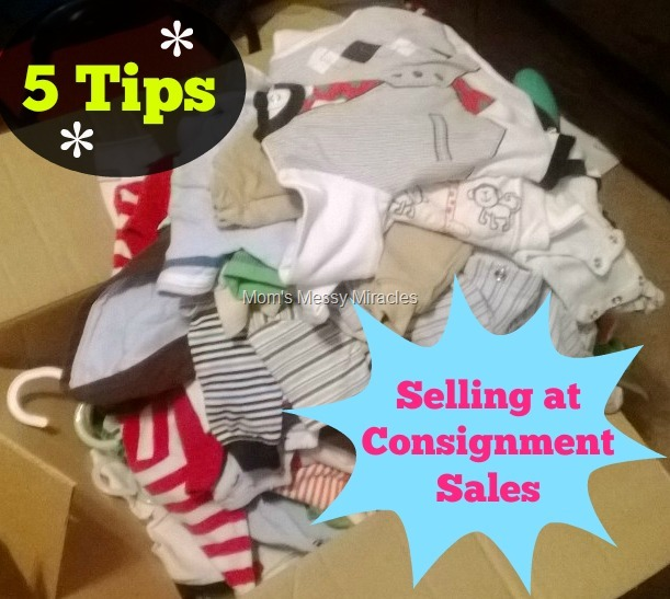Tips for Selling at Consignment Sales
