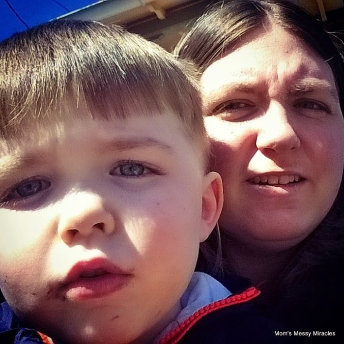 Mommy and Charlie St. Patrick's Day Parade