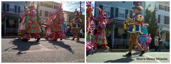 Mummers St. Patrick's Day parade