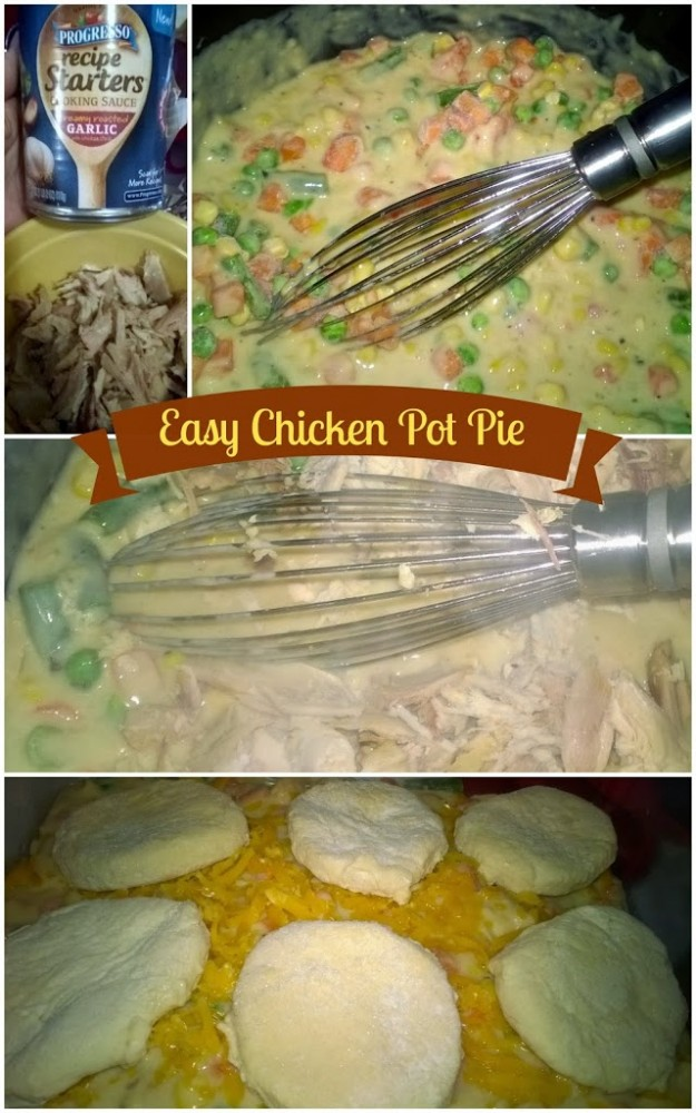 Mom's Messy Miracles: Easy Chicken Pot Pie