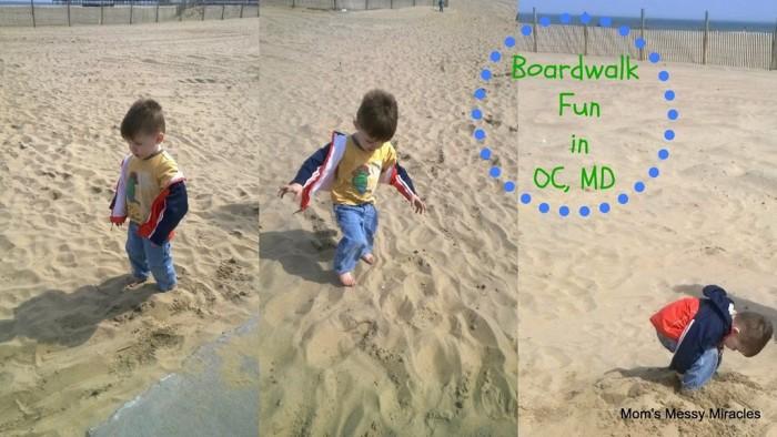 boardwalk fun in OCMD