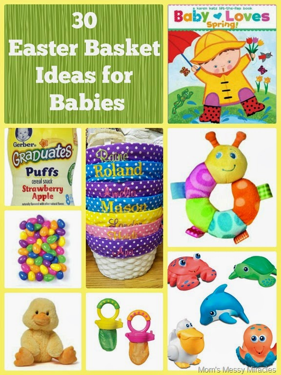 Easter basket ideas for baby the shirley journey easter basket ideas for baby negle Choice Image