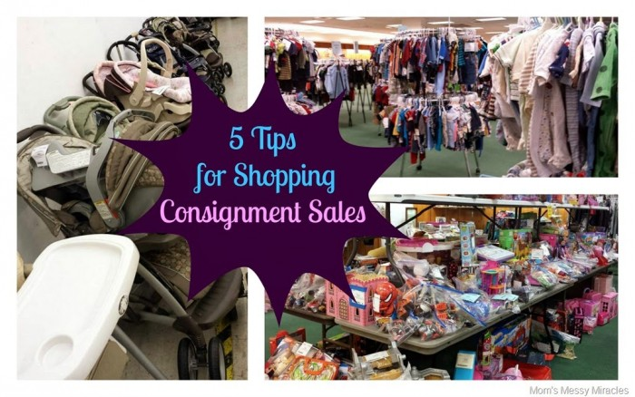 Consignment shopping tips