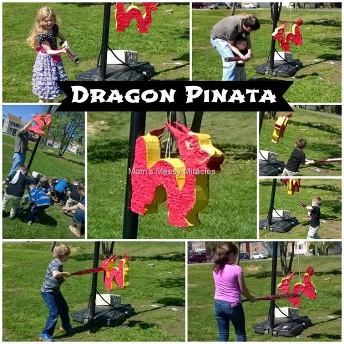Ninja Party Dragon Pinata
