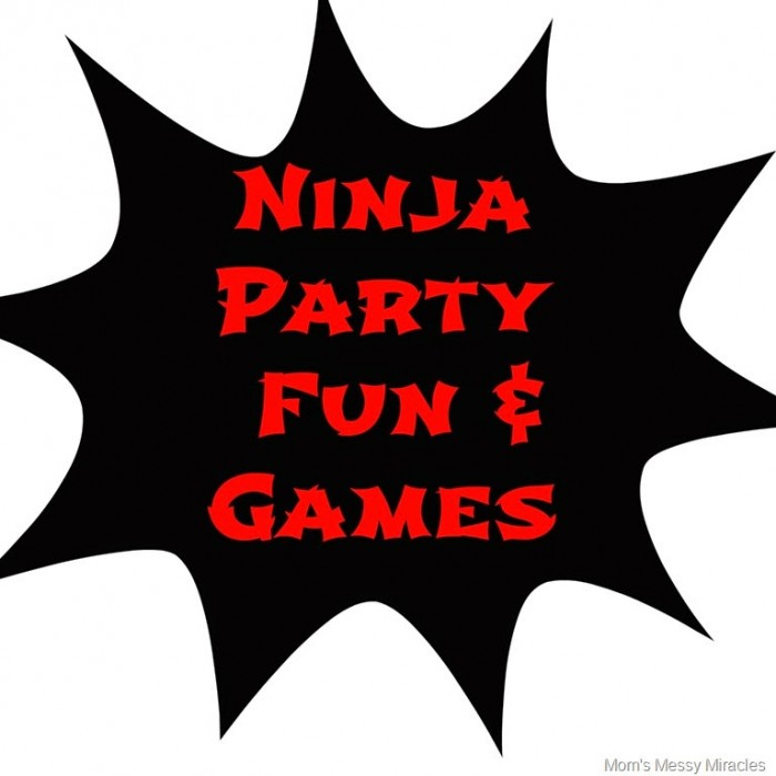 Ninja Party Fun & Games