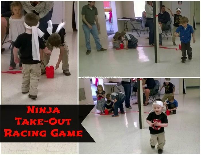 Ninja Party Game Ninja Take-Out Racing Game