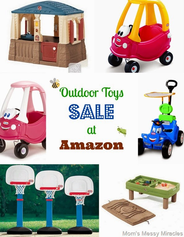 Outdoor Toys Sale at Amazon