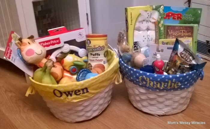 easter baskets 2014