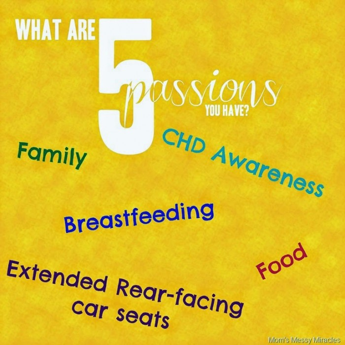 5 Passions