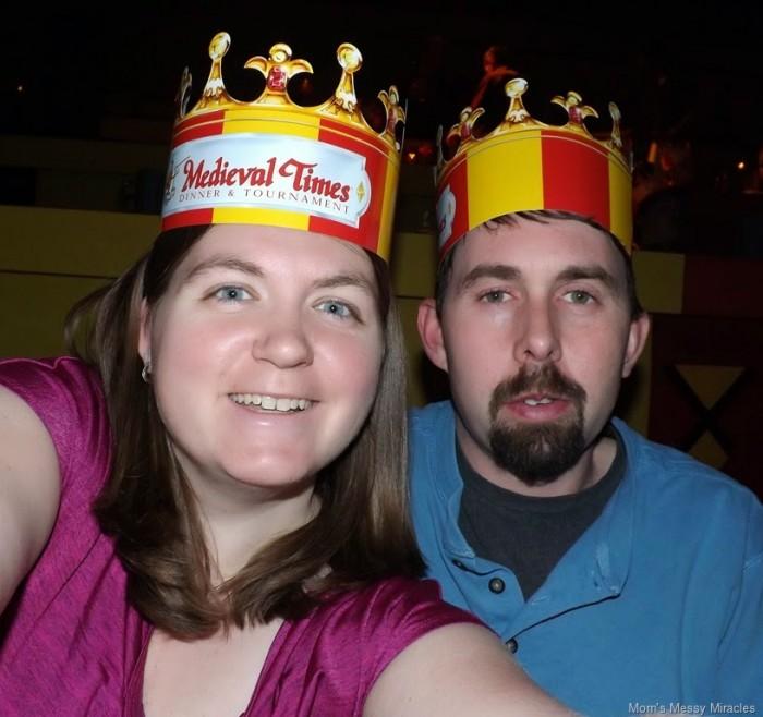 Medieval Times selfie