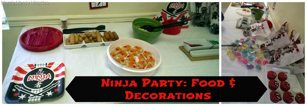 Ninja Dessert plates  Ninja theme party  Ninja  Ninja warrier party