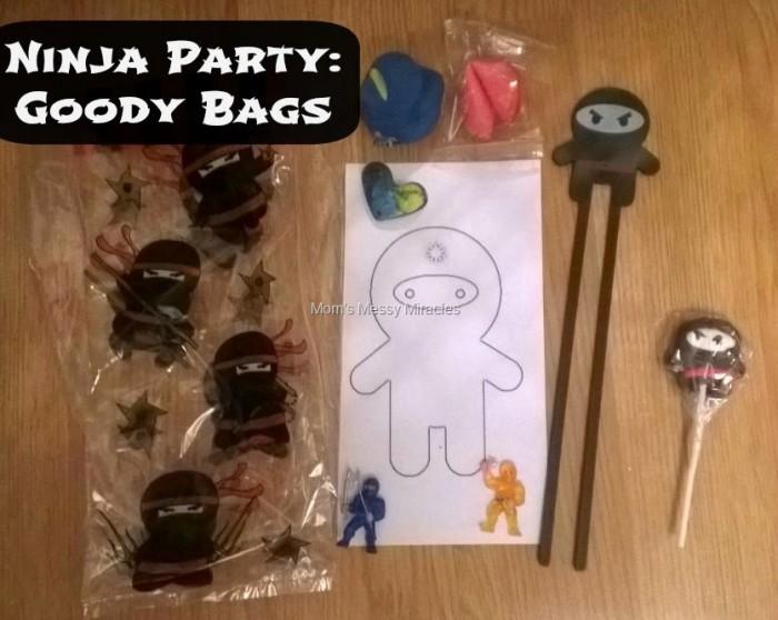 Ninja Party Goody Bags