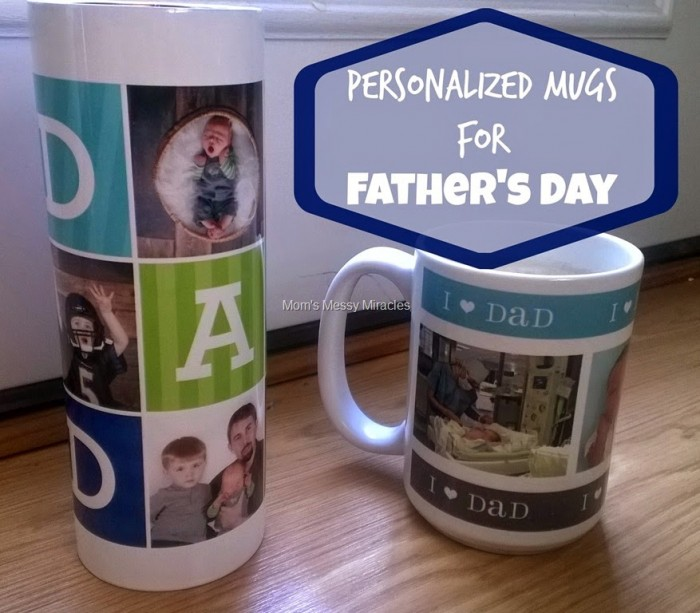Personalized Mugs for Father's Day