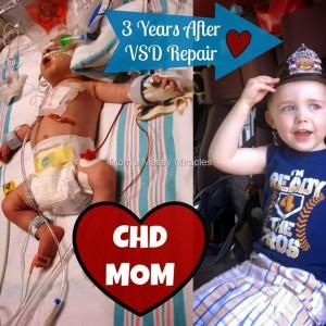 3 Years Post VSD Repair