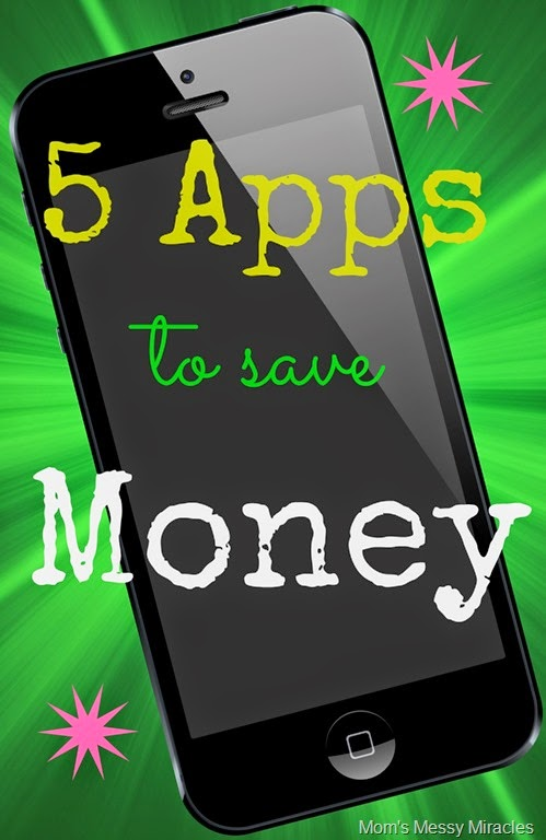 5 Apps to save Money