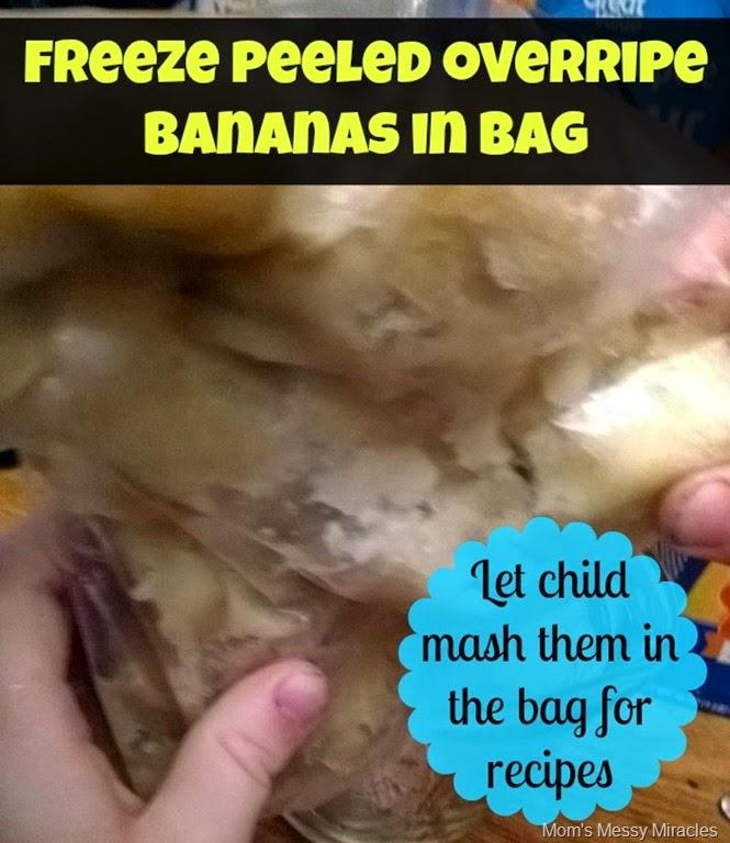 Banana freezing tip