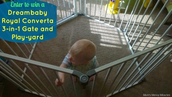 Enter to win Dreambaby Royal Converta Gate and Play-yard