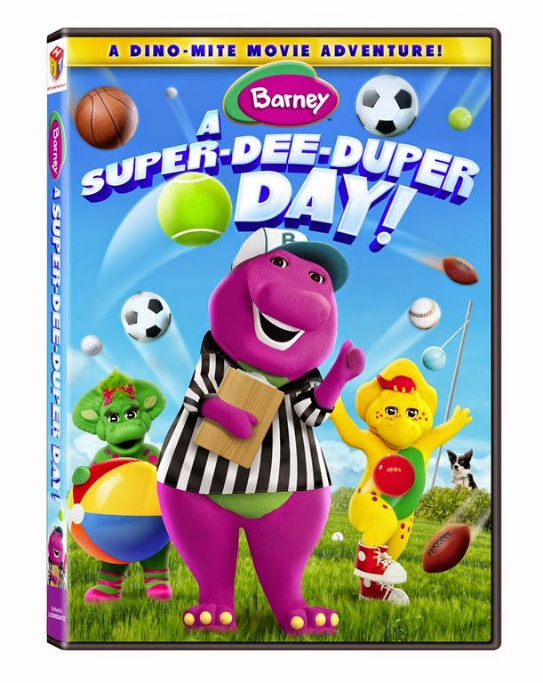 Barney box art