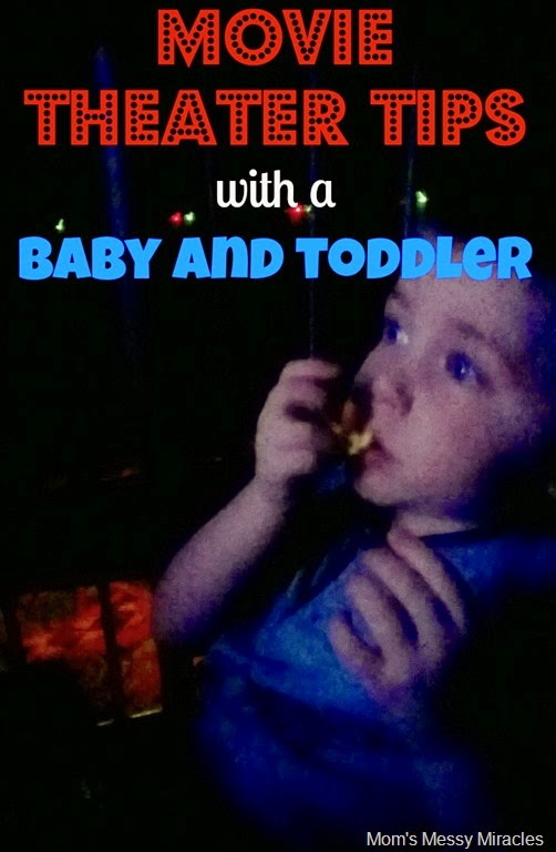 Movie Theater Tips with a Baby and Toddler