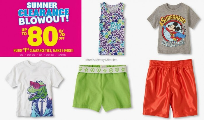 The Children's Place summer clearance