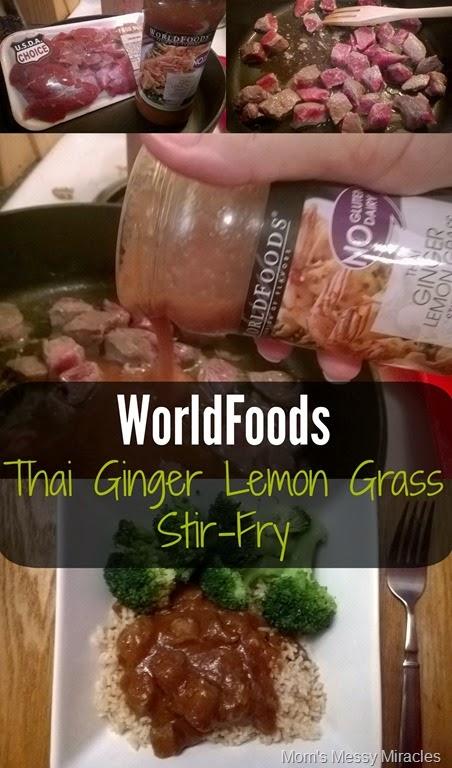 WorldFoods Thai Lemon Grass Stir-Fry