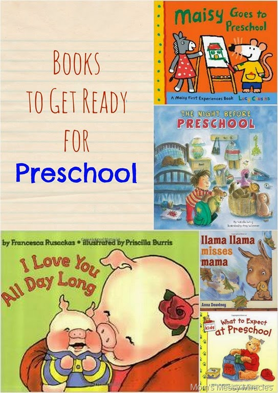 Books to Get Ready for Preschool
