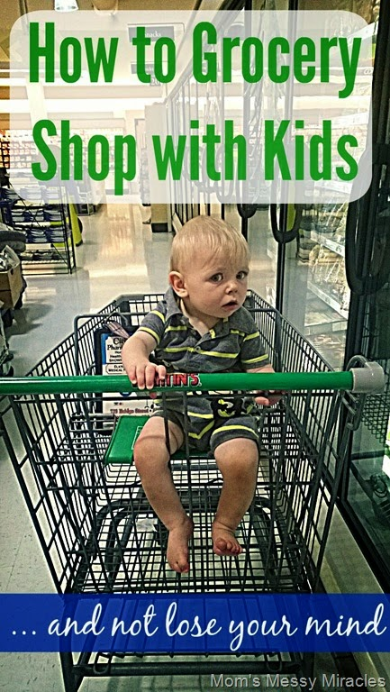 How to Grocery Shop with Kids