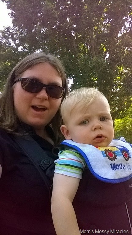 Mommy and Owen Seafood Festival