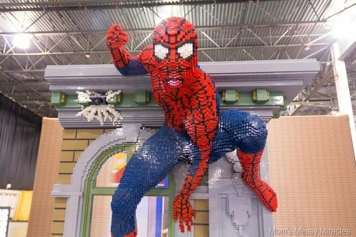 spiderman lego kidsfest