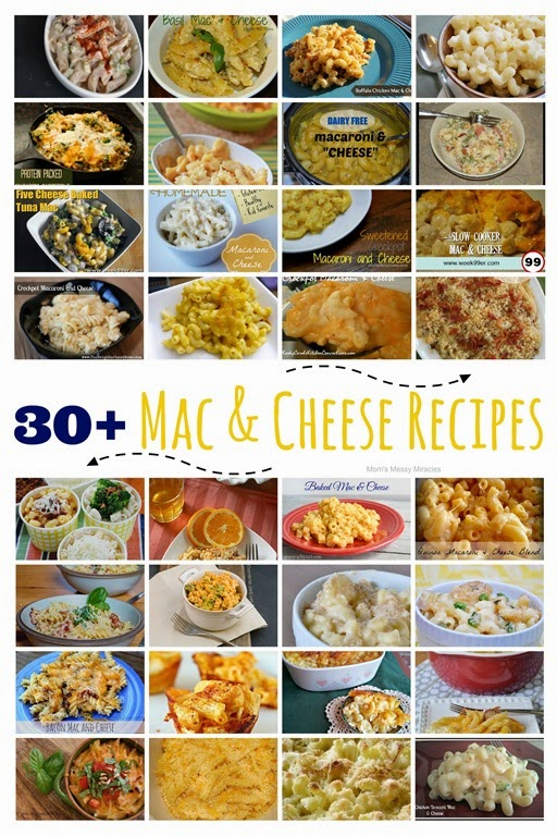30 Mac & Cheese Recipes! You'll find something for everyone that loves macaroni and cheese!