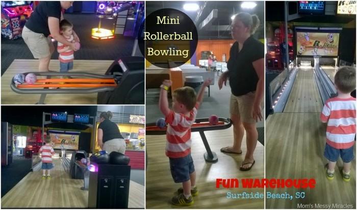 Mini Rollerball Bowling