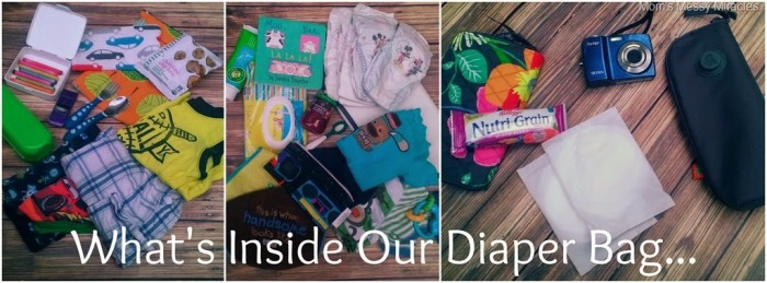 What's Inside Our Diaper Bag