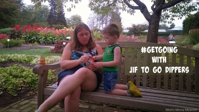 #GetGoing with Jif to Go Dippers