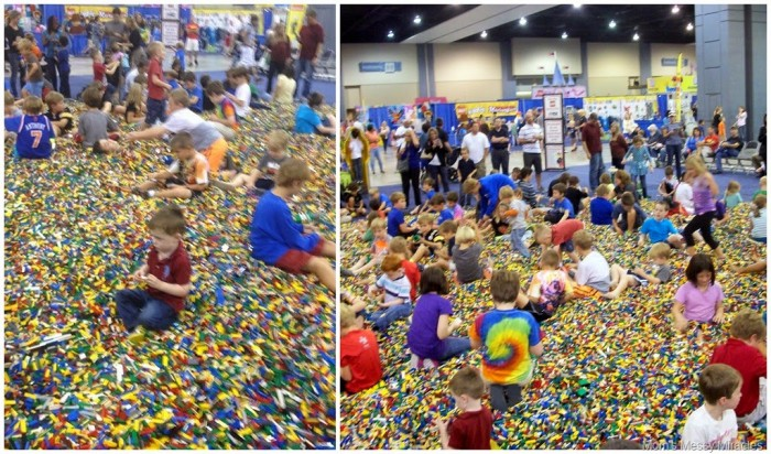Brick Pile at LegoKidsFest