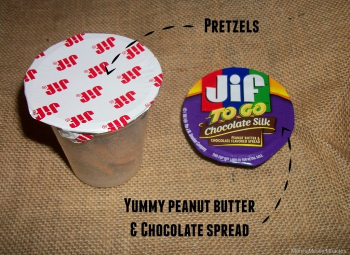 Jif to Go Dippers #GetGoing