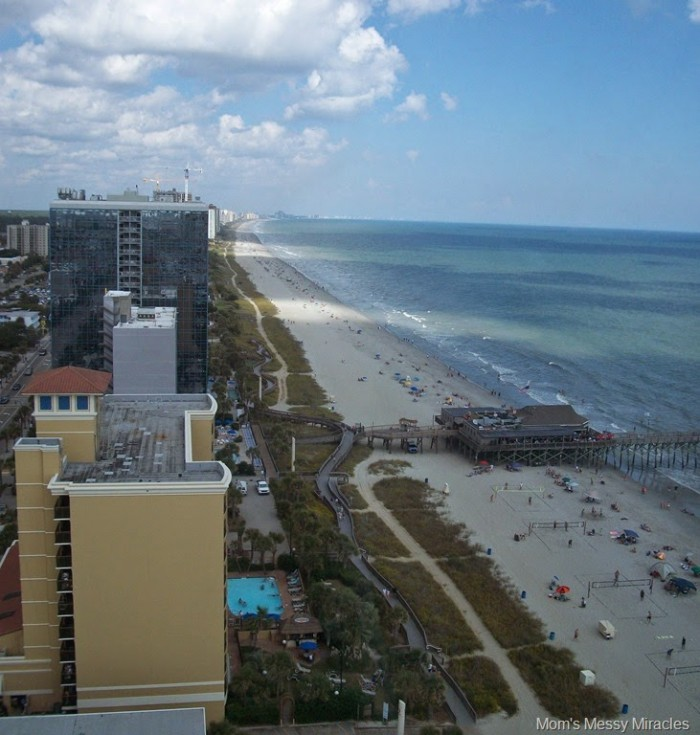 Check out this view from the SkyWheel in Myrtle Beach
