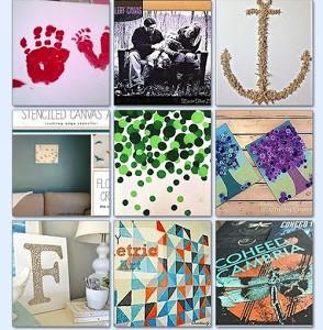 Canvas Wall Art Ideas on Hometalk