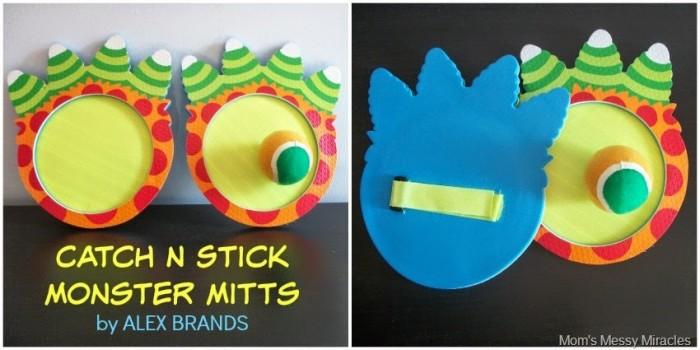 Catch N Stick Monster Mitts ALEX BRANDS