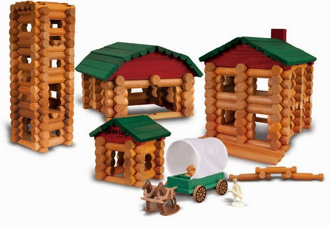 Collector's Edition Homestead Lincoln Logs