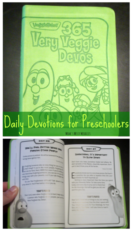 Daily Devotions for Preschoolers