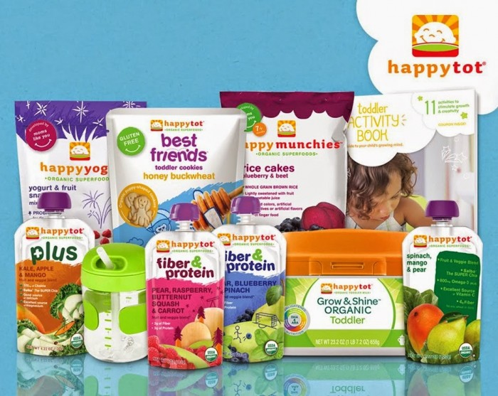 Happy Family Toddler Nutrition Giveaway Pack