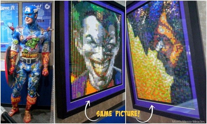 There's something for everyone at Ripley's Odditorium in Myrtle Beach! I loved all the comic book finds!