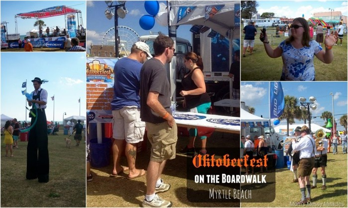Oktoberfest on the boardwalk Myrtle Beach