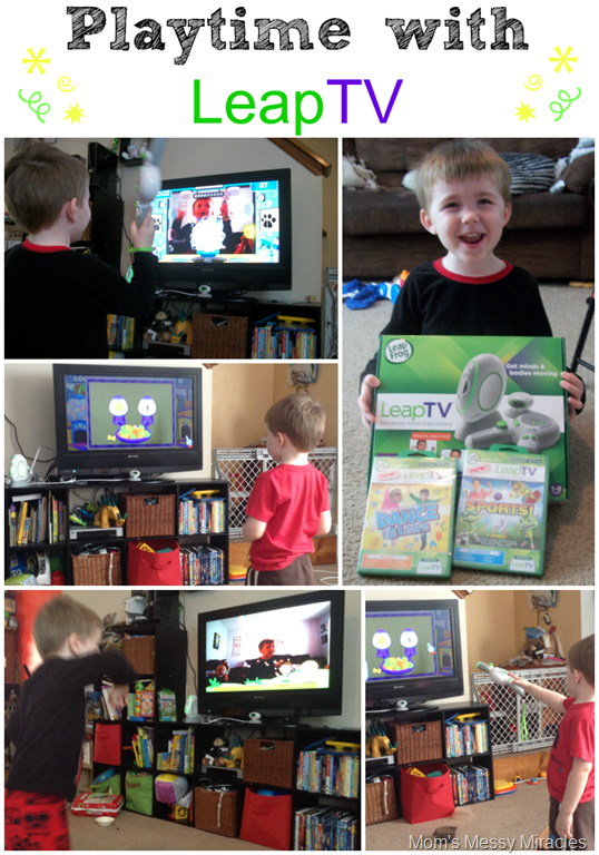 Playtime with LeapTV