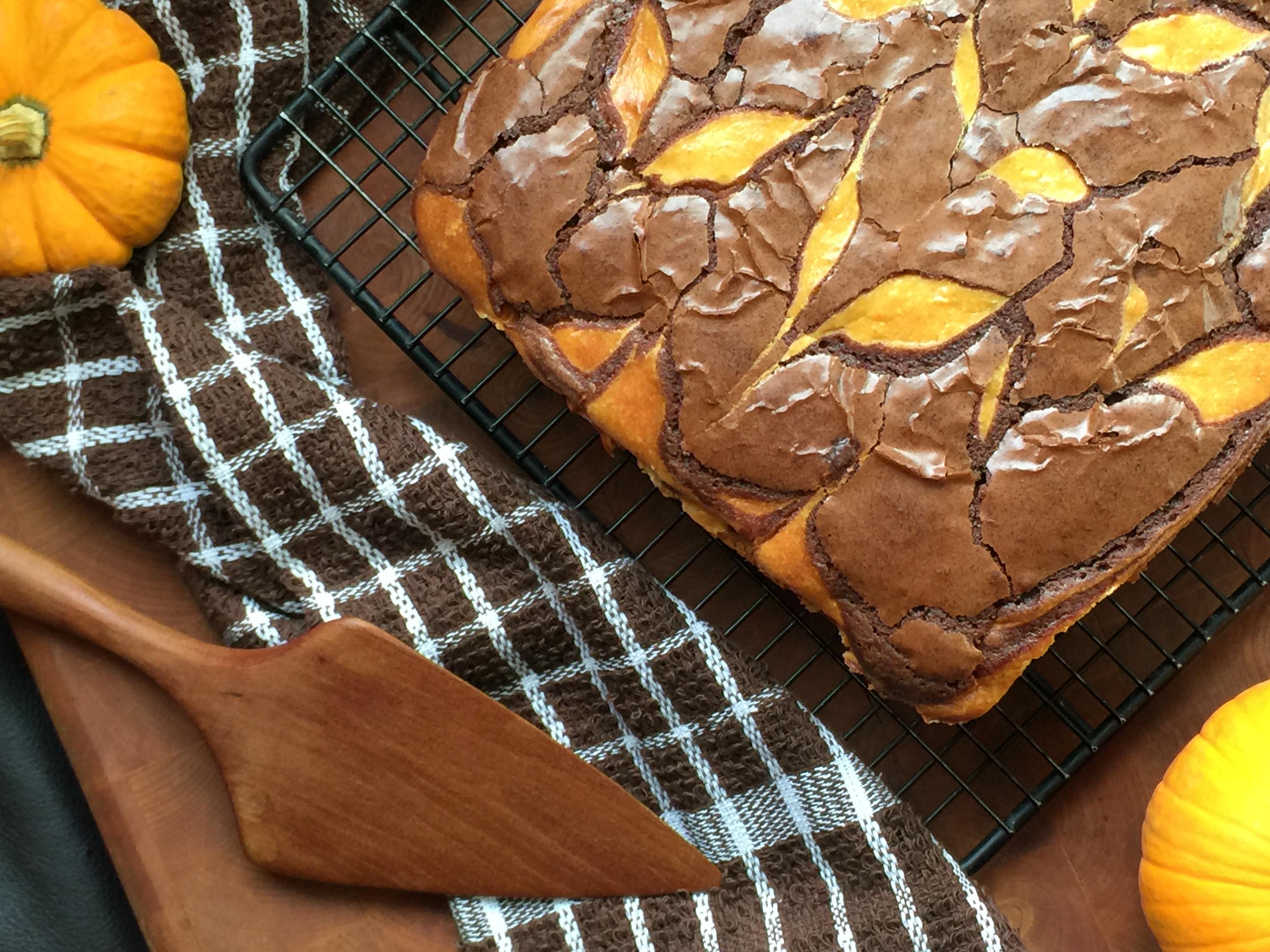 Pumpkin Cheesecake Brownies final