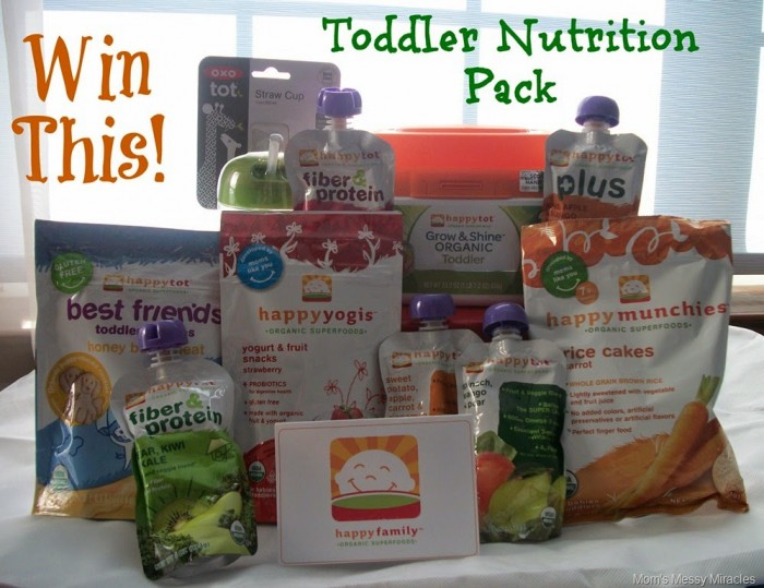 Win This Toddler Nutrition Pack