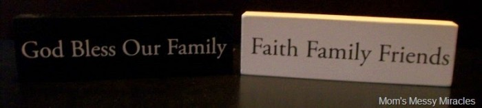 family christian plaques