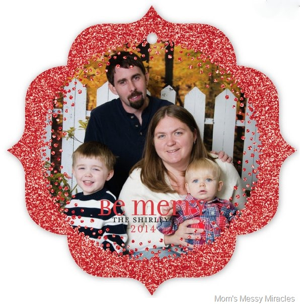 ornament cards from Minted